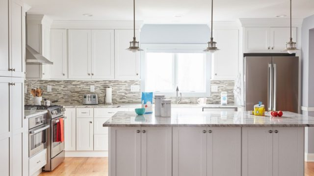 Make your kitchen attractive by kitchen cabinets