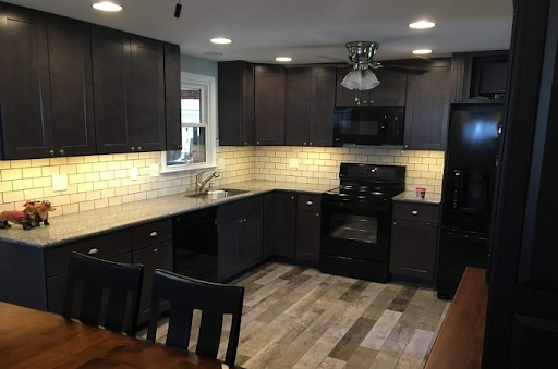 Stock kitchen cabinets